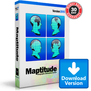 Maptitude 2015 Mapping Software Download Caliper Store