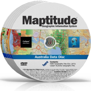 Country Packages for Maptitude Mapping Software
